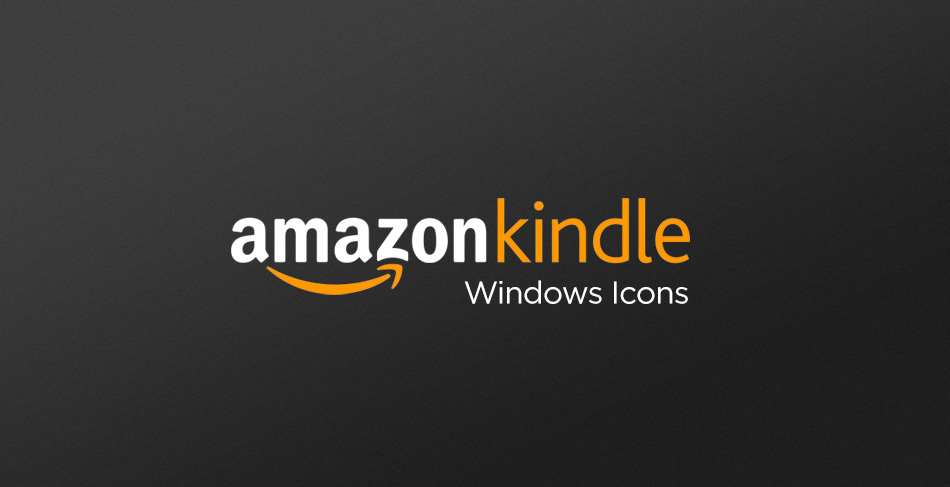 Amazon Kindle Icons for Windows OS