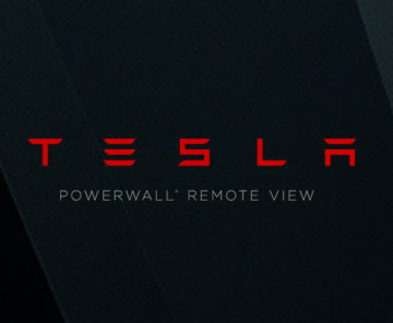 Tesla Powerwall Mobile App